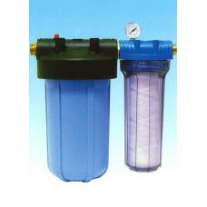 Магистральный фильтр CACF 4 с двумя картриджами