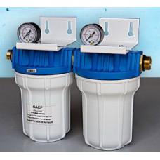 Фильтр умягчения CACF 1B с двумя картриджами