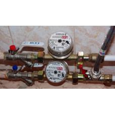 Как установить счетчик на воду в квартире: как правильно поставить водомер и что нужно для его подключения – правила процедуры установки и сборки, инструкция