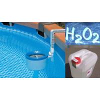 Перекись водорода для бассейна: как использовать пергидроль — инструкция по применению, дозировка и концентрация