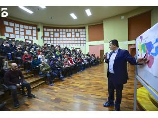 Меры по улучшению качества воды обсудили с жителями Балашихи