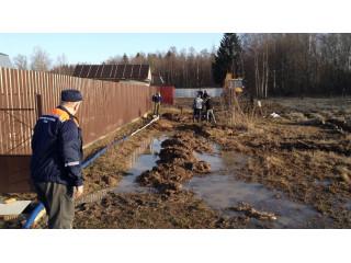 Более 240 литров воды откачено в ходе борьбы с подтоплениями в Люберцах за минувшую неделю