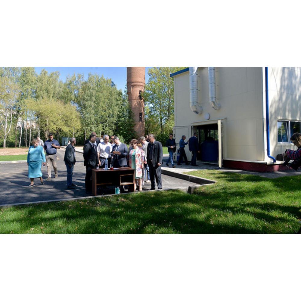 Водозаборный узел открыли в Мамонтовке после реконструкции 28 августа