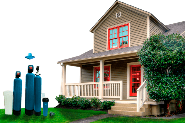 обезжелезивание воды для дома