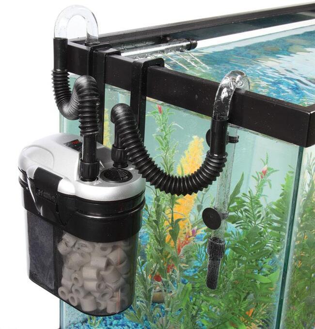 как собрать фильтр для аквариума силонг