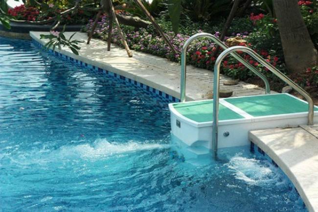 схема очистки бассейна