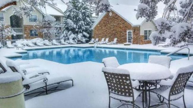 консервация композитного бассейна на зиму