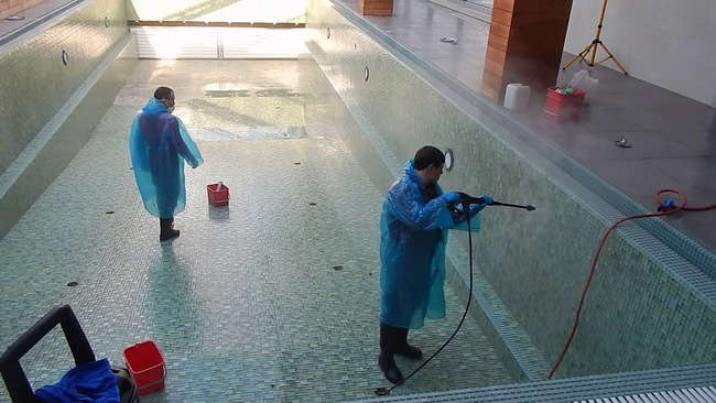 жидкая химия для бассейна