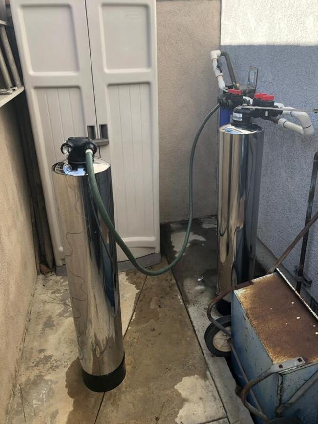 замена фильтров проточной воды