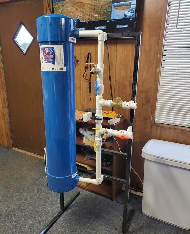 как поменять водяной фильтр видео