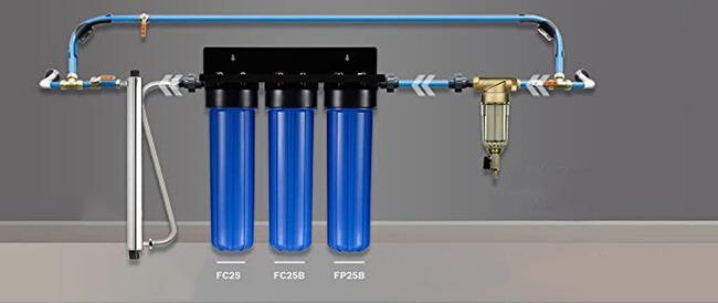 как подсоединить фильтр для очистки воды