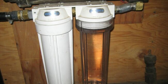 как поставить фильтр на холодную воду