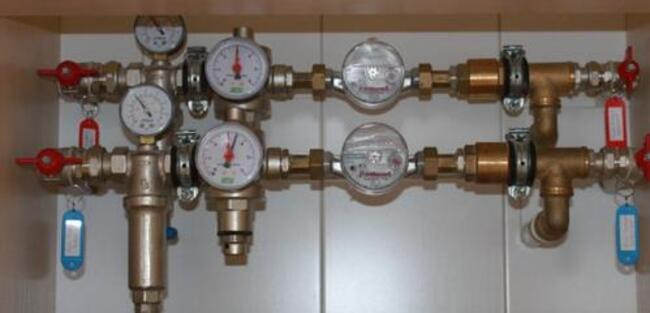 редукционный клапан давления воды принцип работы