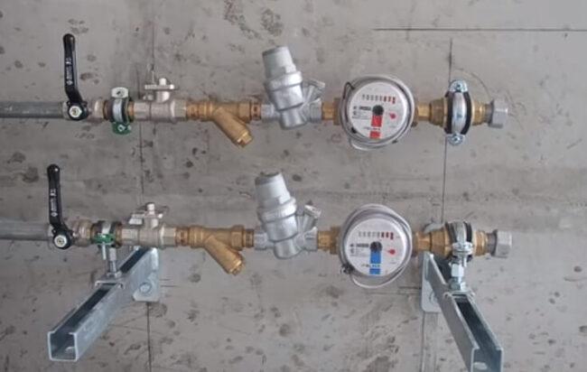 редуктор давления воды конструкция
