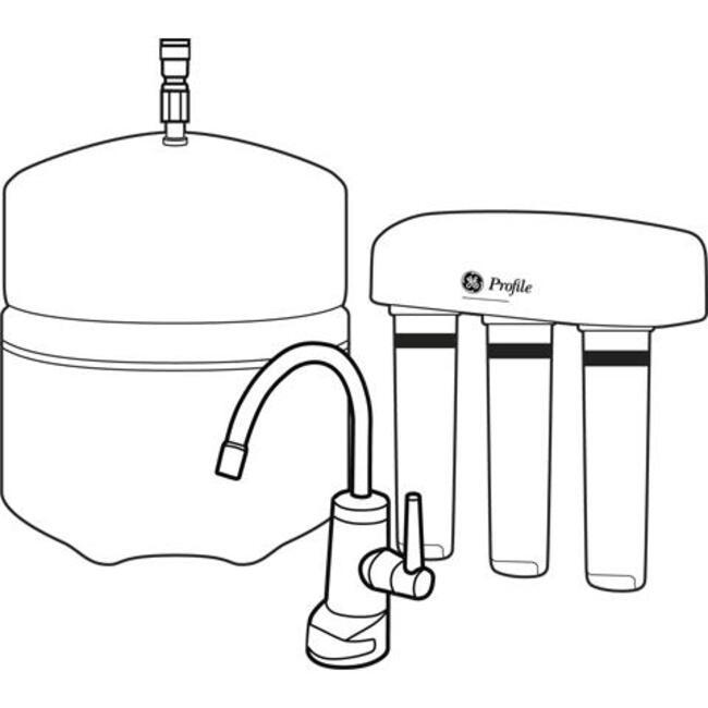 установка фильтра воды на кухне