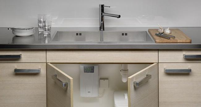 установить фильтр для воды на кухню