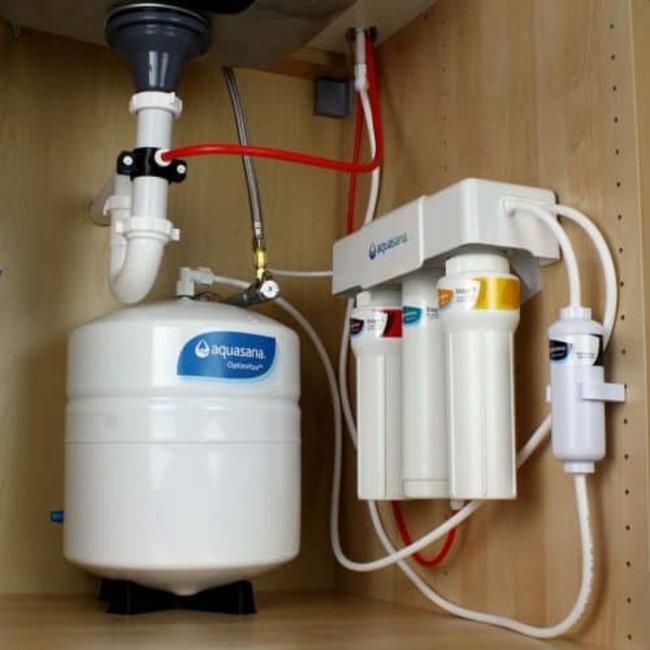 поставить фильтр для воды под мойку