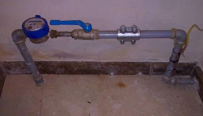 установка счетчиков воды инструкция