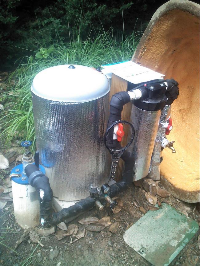 как утеплить трубу скважины на улице