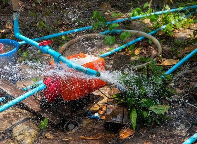 летний дачный водопровод