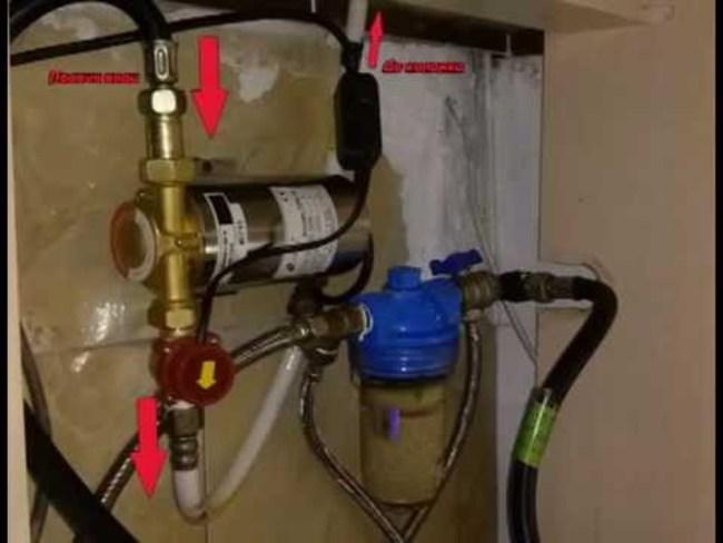 установка повышающего насоса на водопровод