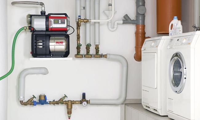 водопроводные насосы для повышения давления воды
