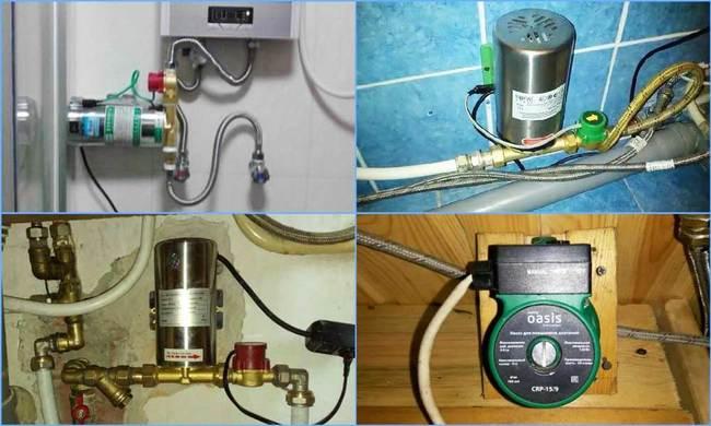 насосы для подкачки воды в частном доме
