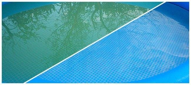 можно ли использовать перекись водорода для бассейна