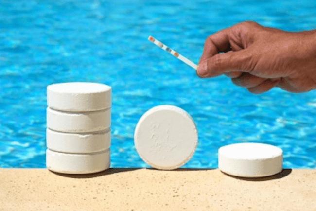 применение перекиси водорода для бассейнов