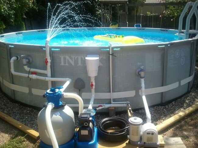 фильтры для бассейнов песочные инструкция