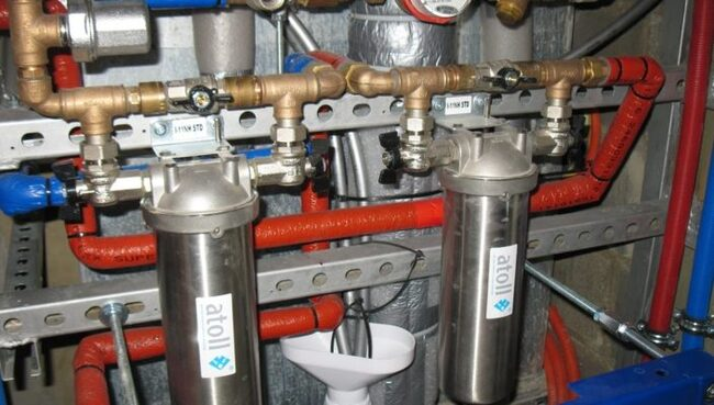 централизованная вода в частном доме