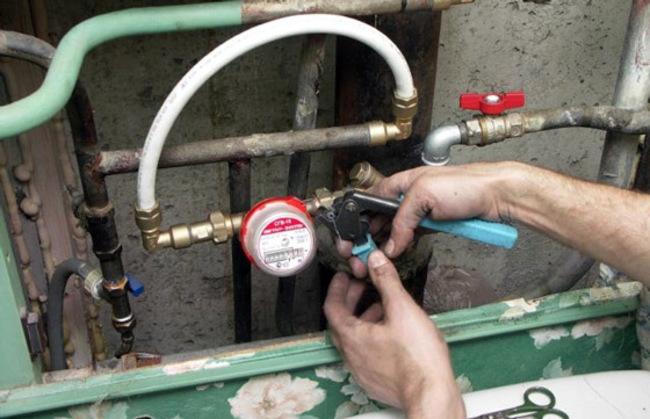 правила замены водяного счетчика в квартире