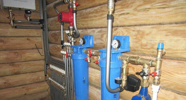схема подключения горячей воды с циркуляцией