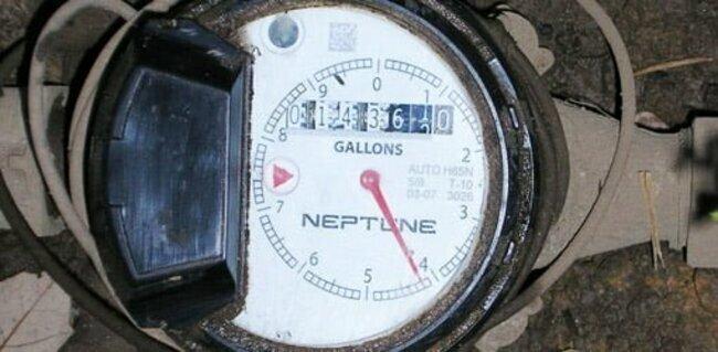 установка счетчиков воды схема подключения