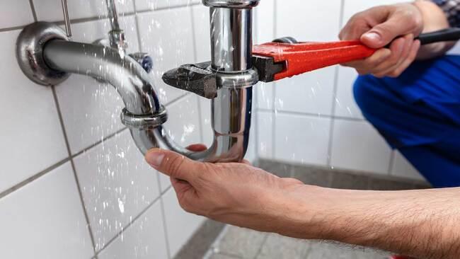 схема монтажа прибора учета воды