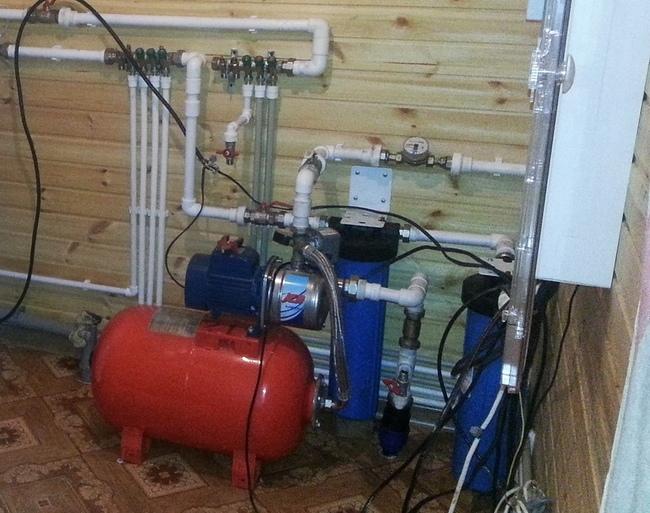 монтаж схема водопровода в доме