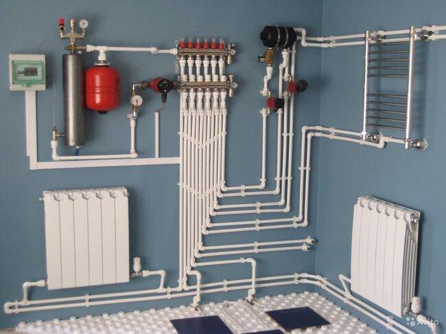 схема воды в доме
