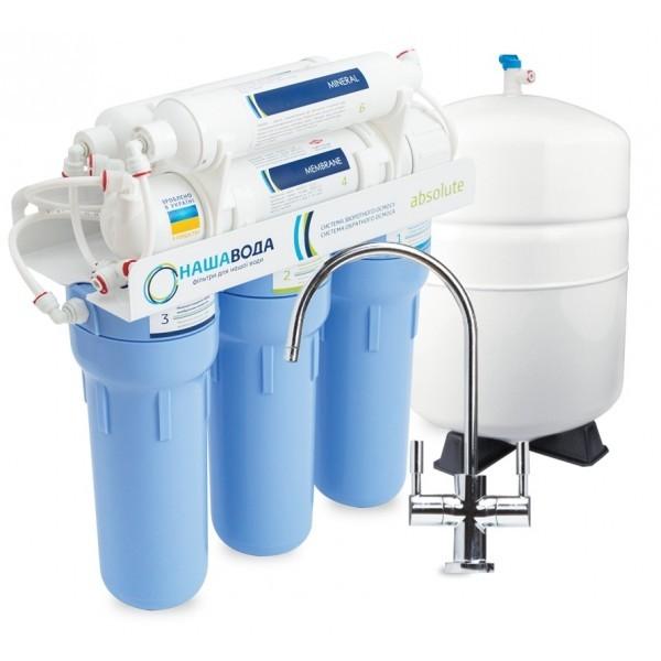 сорбционный фильтр для очистки воды