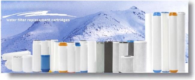 замена картриджа в водяном фильтре