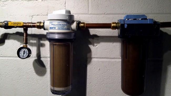 как сменить картридж в фильтре для воды