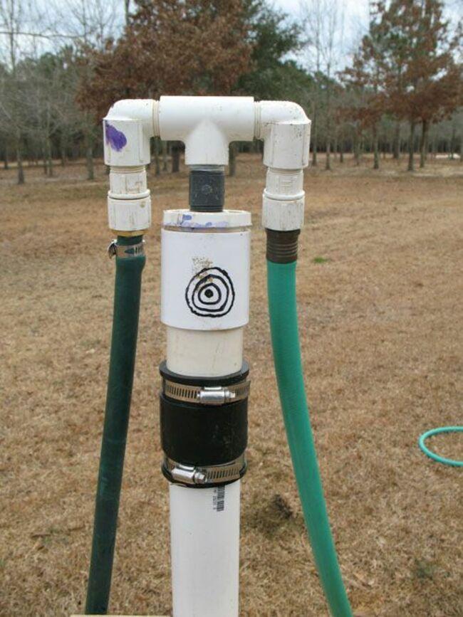 как пробурить скважину для воды вручную