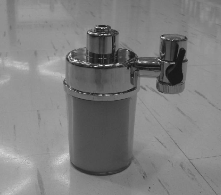 фильтр на смеситель в ванной