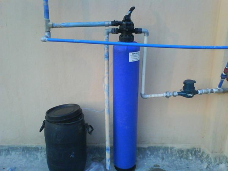 фильтр для воды очищает известь