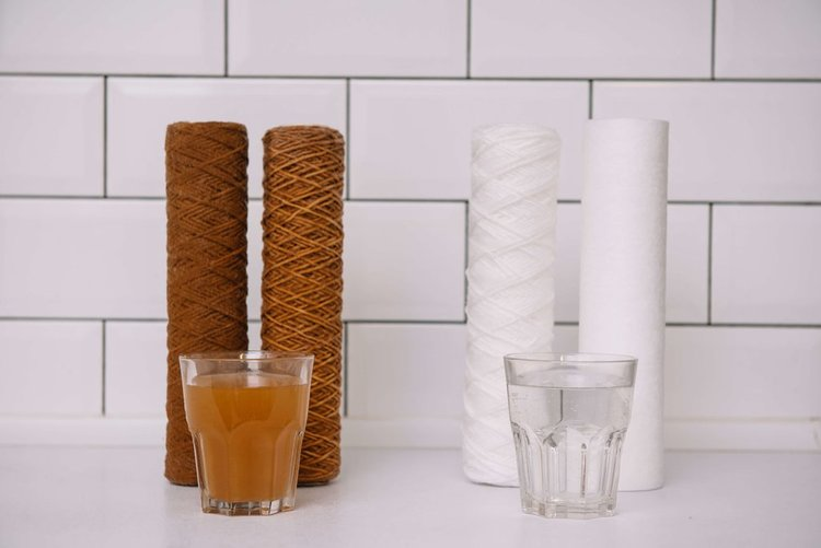 фильтрация воды в частном доме от железа