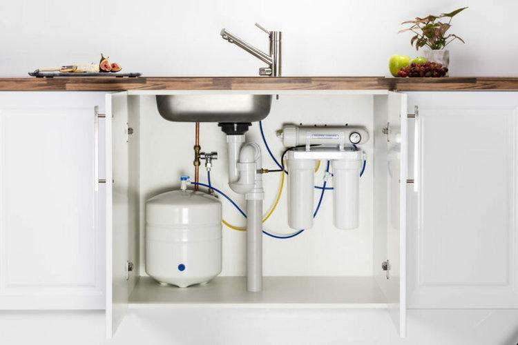 проточная фильтрация воды
