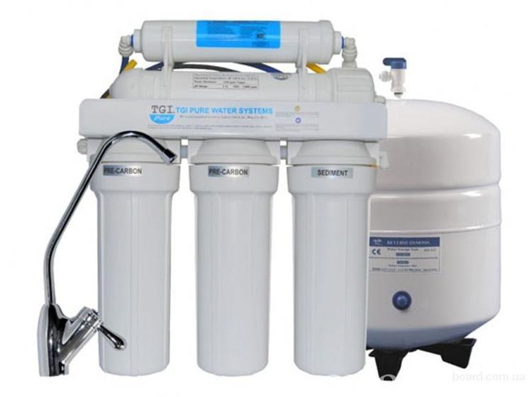 бытовые проточные фильтры для воды