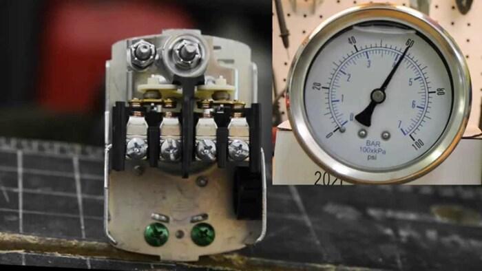 реле регулятор давления воды для насоса регулировка