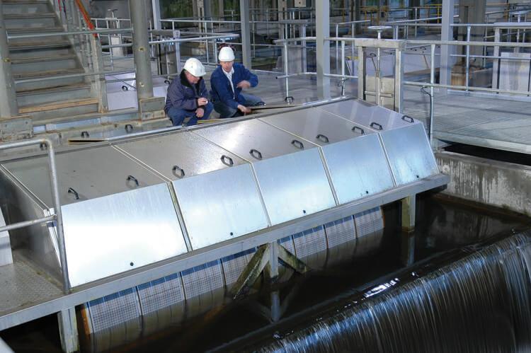фильтр тонкой очистки воды самопромывной