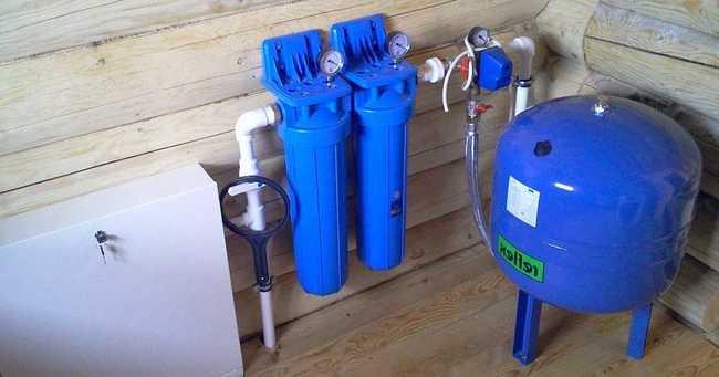 где ставить гидроаккумулятор в системе водоснабжения