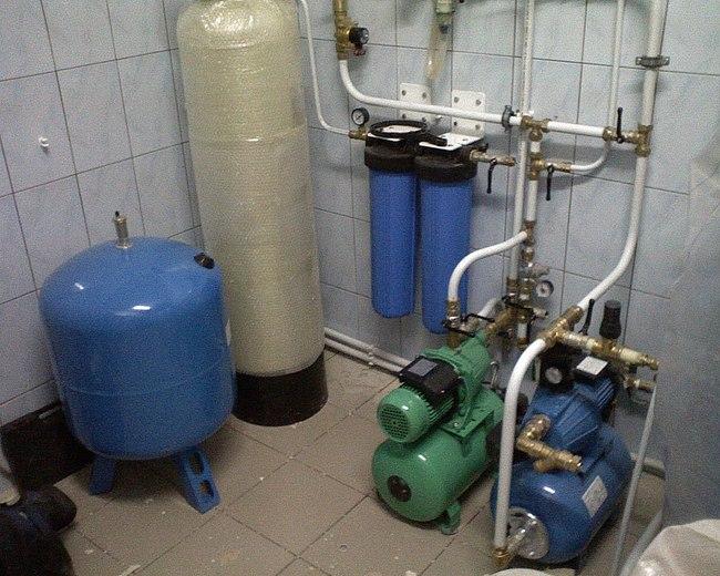 гидробаки для систем водоснабжения схема подключения